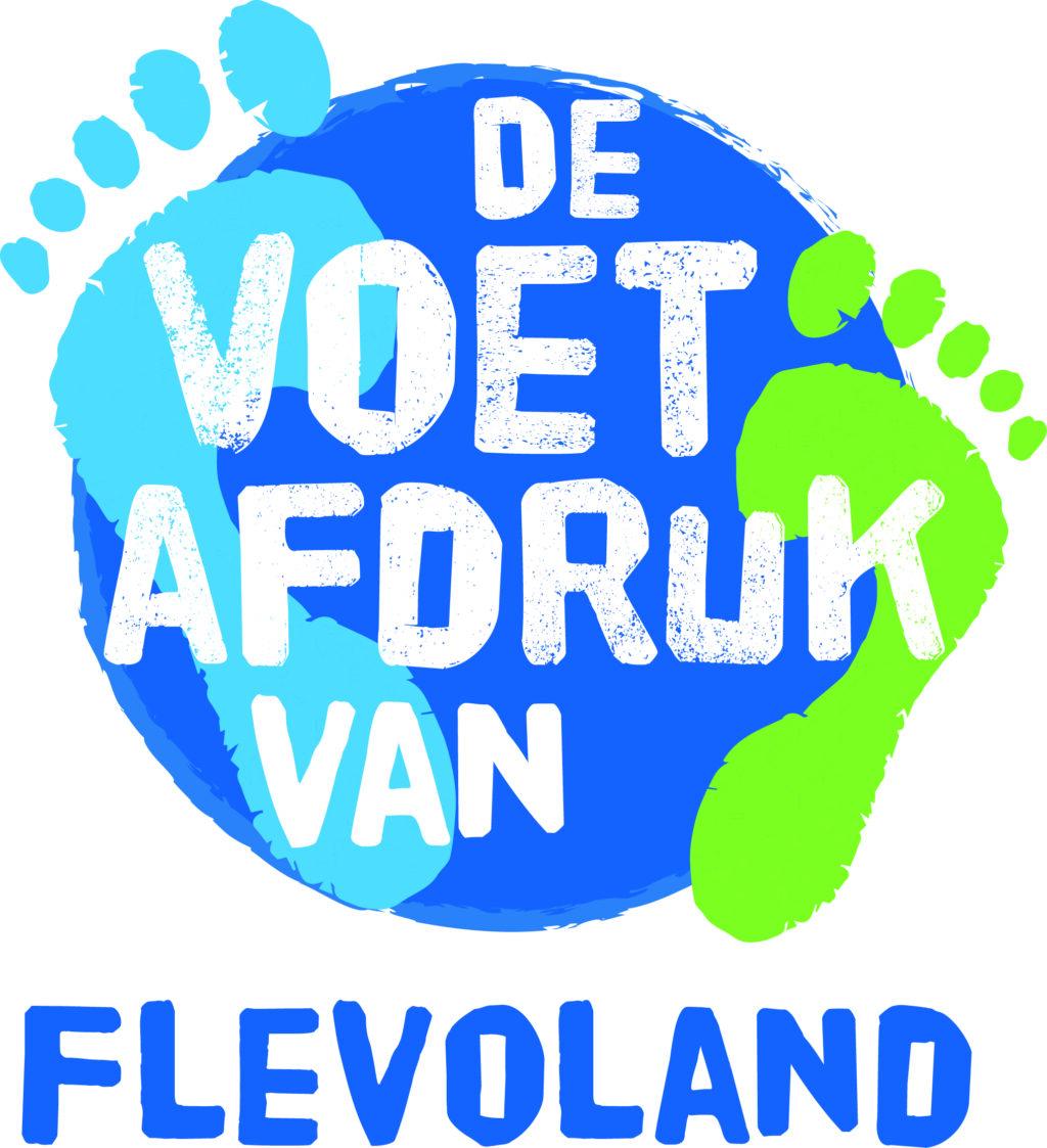 De voetafdruk van Flevoland