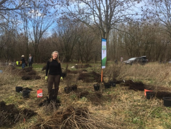 Plant actie in Pampushout Almere: 3.000 bomen